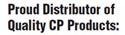 Proud Distributor of Quality CP Products